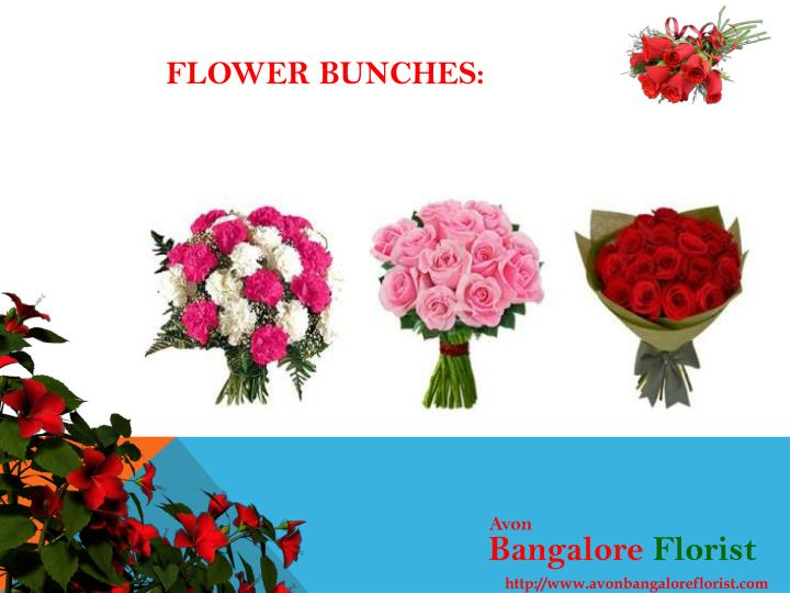 Flower Bunches: