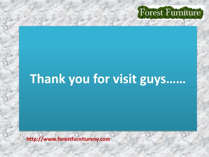 Thank you for visit guys……