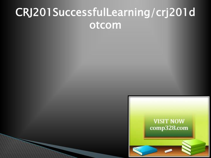 CRJ201SuccessfulLearning/crj201dotcom
