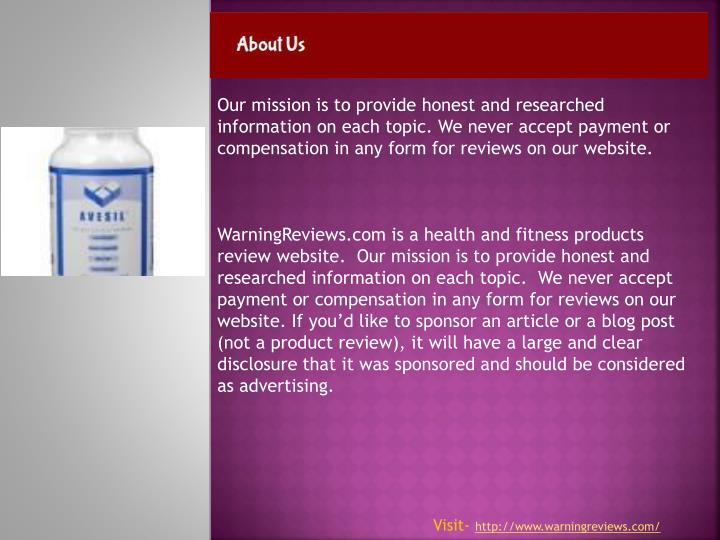 Our mission is to provide honest and researched information on each topic. We never accept payment o...