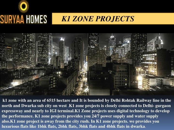 K1 ZONE PROJECTS