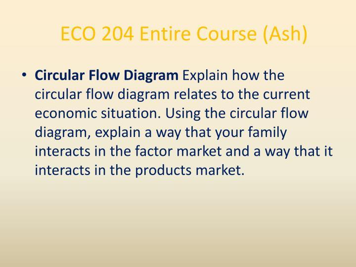 ECO 204 Entire Course (Ash)