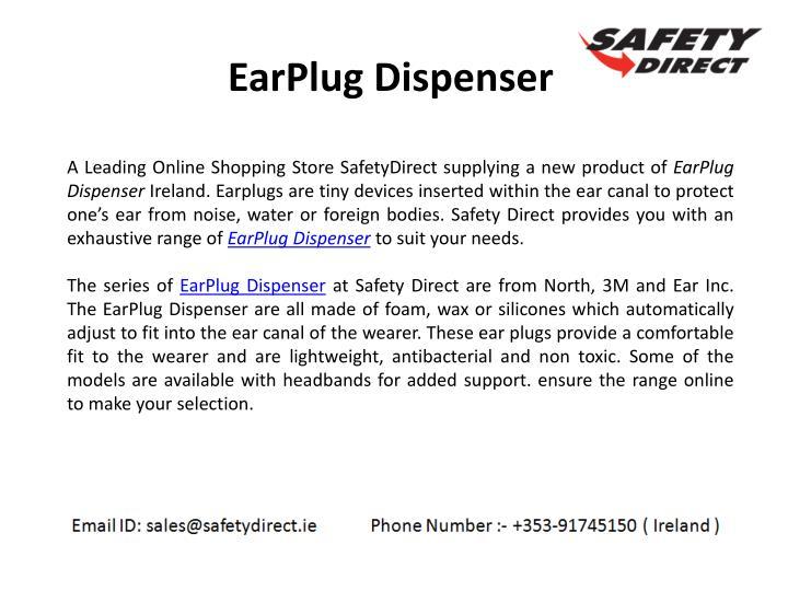 EarPlug Dispenser