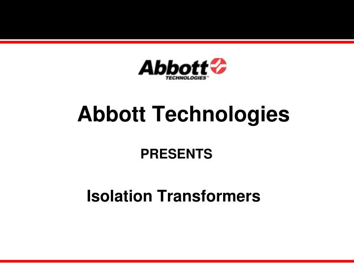 Abbott Technologies