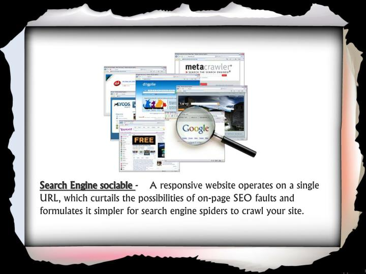 Search Engine sociable