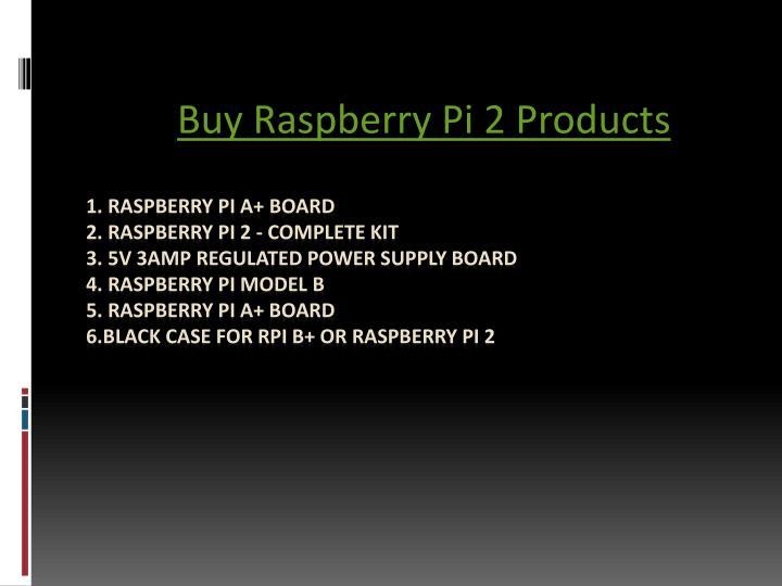 Buy Raspberry Pi 2