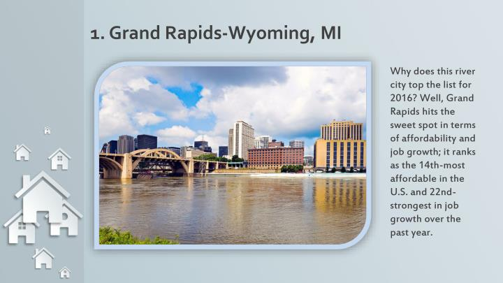 1. Grand Rapids-Wyoming, MI