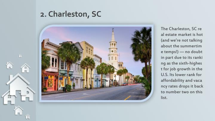 2. Charleston, SC