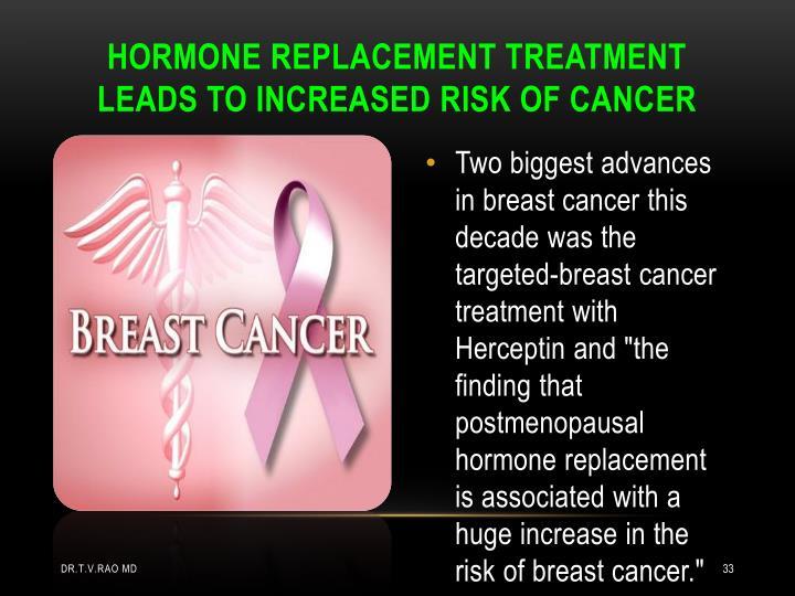 HORMONE REPLACEMENT TREATMENT