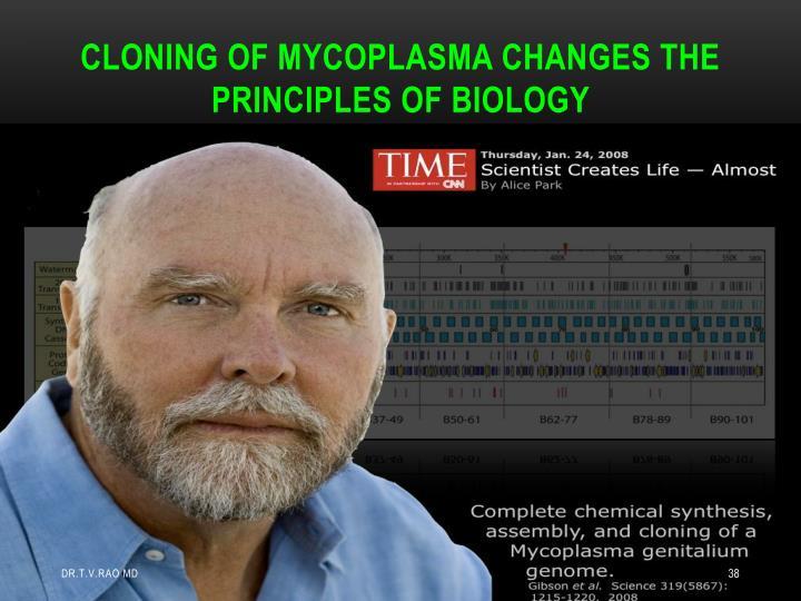 CLONING OF MYCOPLASMA CHANGES THE