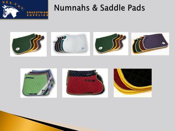 Numnahs & Saddle Pads