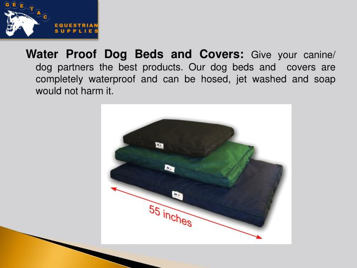 Water Proof Dog Beds and Covers: