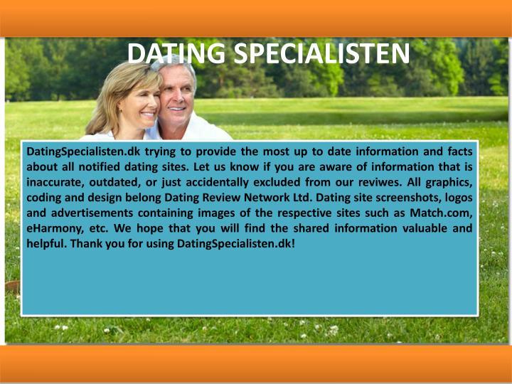 DATING SPECIALISTEN