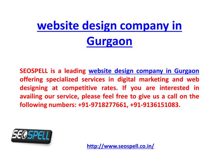 website design company in