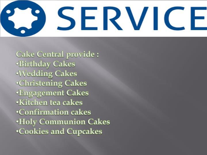 Cake Central provide :