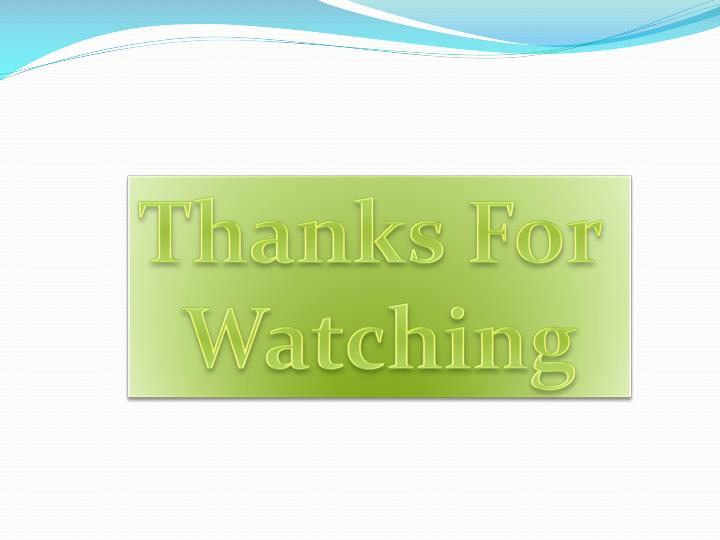 Thanks For