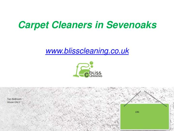 Carpet Cleaners in Sevenoaks