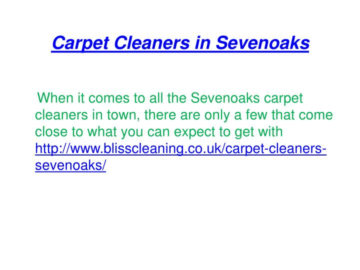 Carpet cleaners in sevenoaks1