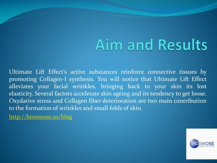 Aim and Results