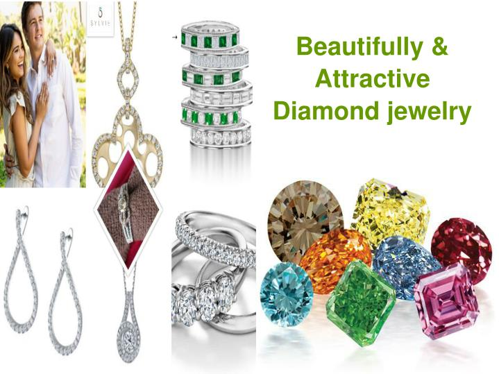Beautifully & Attractive Diamond jewelry