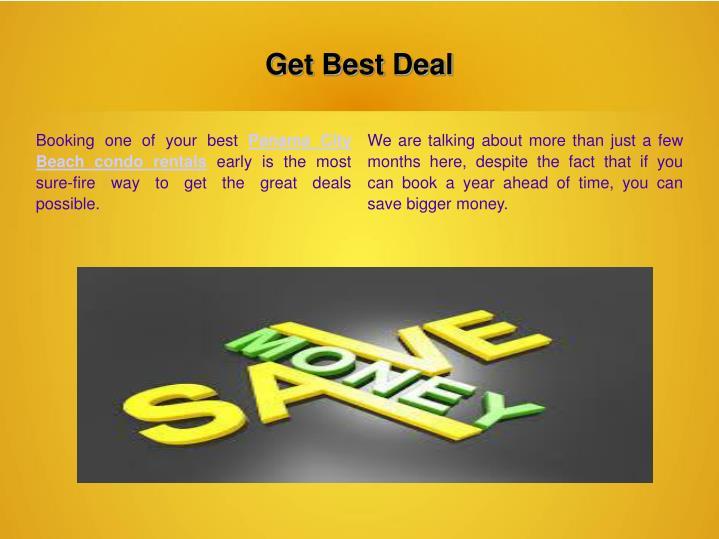 Get Best Deal