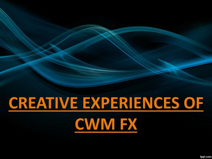 CREATIVE EXPERIENCES OF