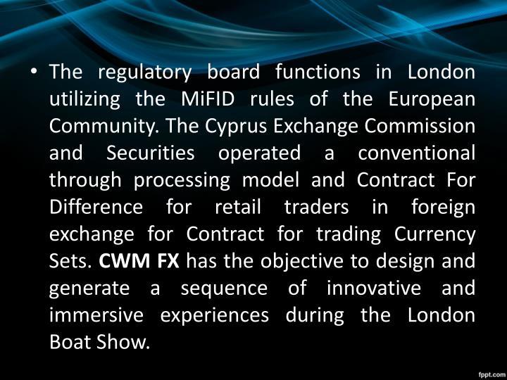 Cwm forex trading