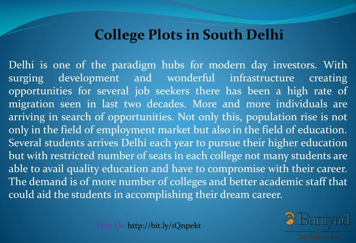 College Plots in