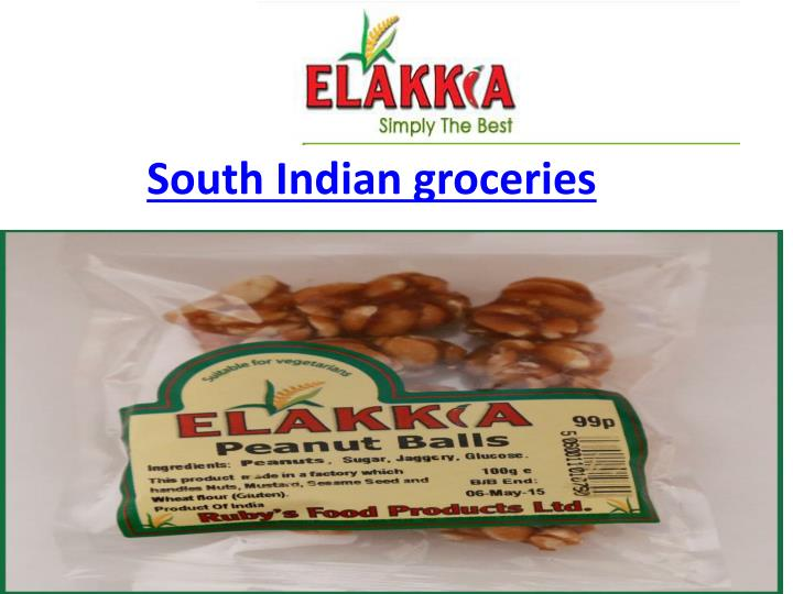 South Indian groceries