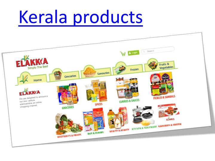 Kerala products