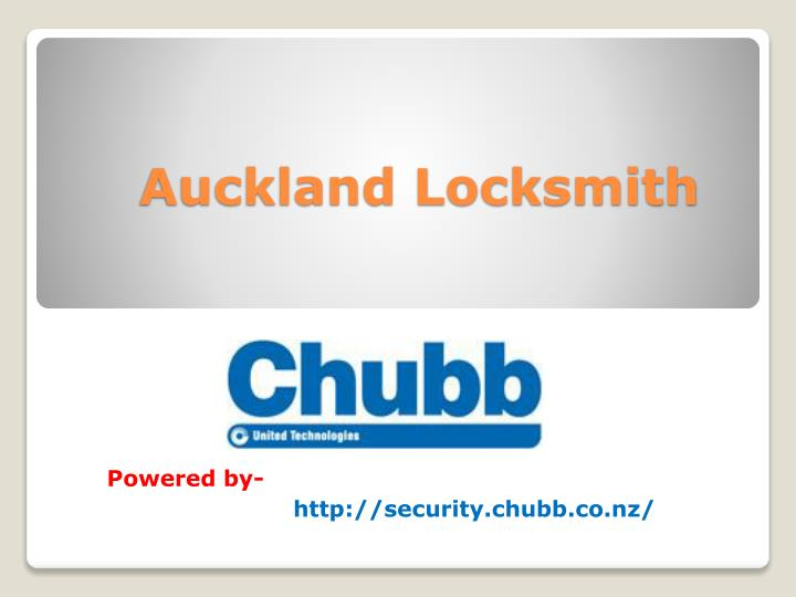 Auckland Locksmith