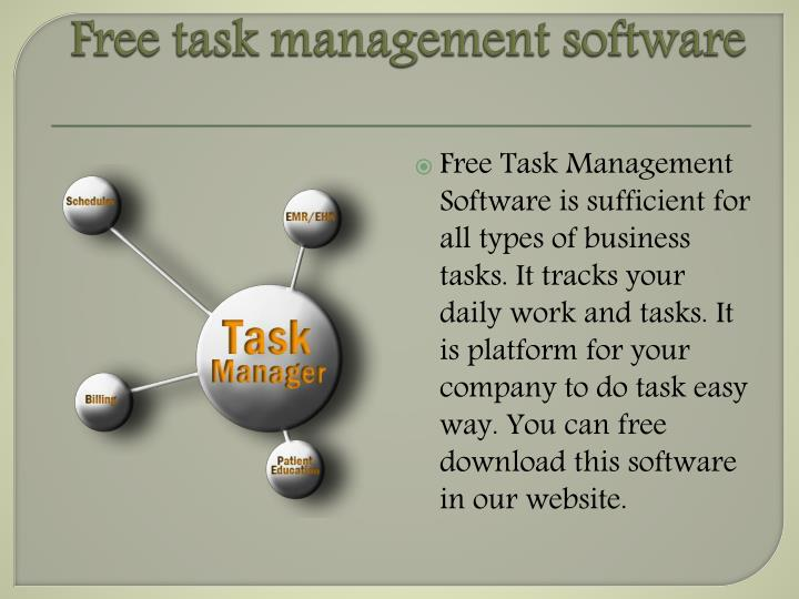 Free task management software