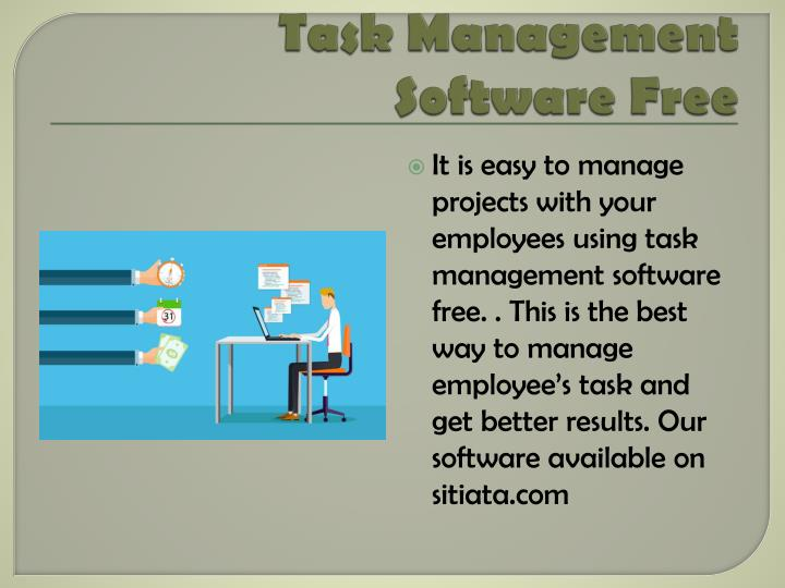Task management software free