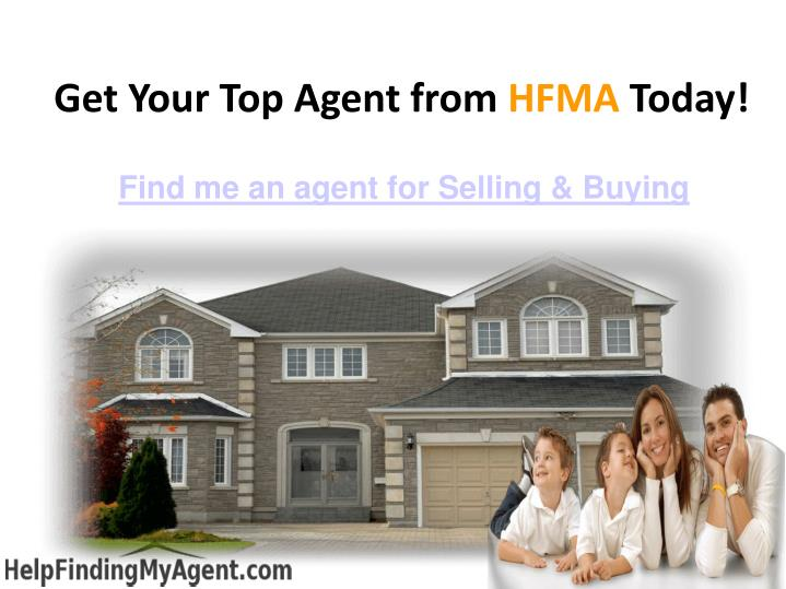 Get Your Top Agent from