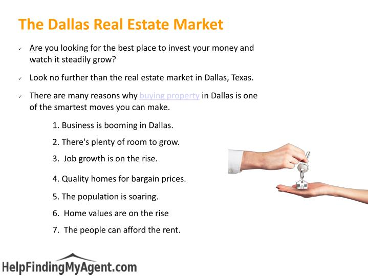The dallas real estate market