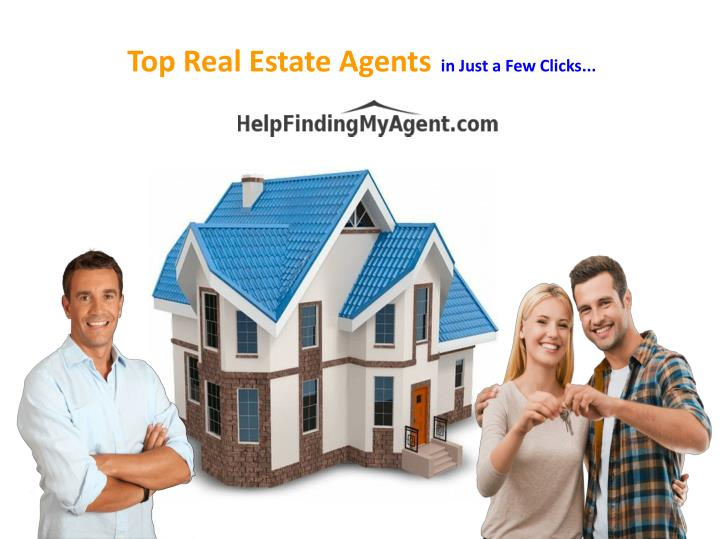 Top real estate agents in just a few clicks