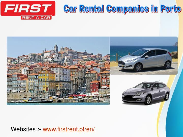 Car Rental Companies in Porto