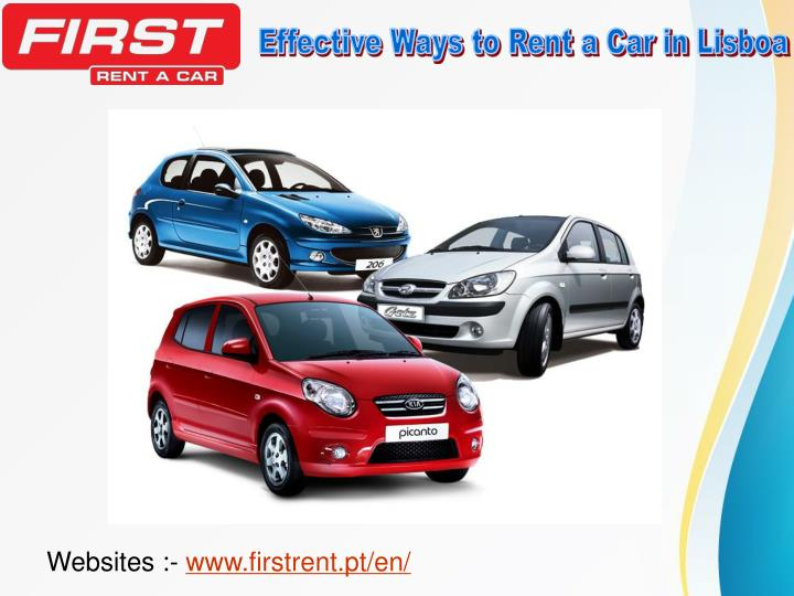 Effective Ways to Rent a Car in Lisboa
