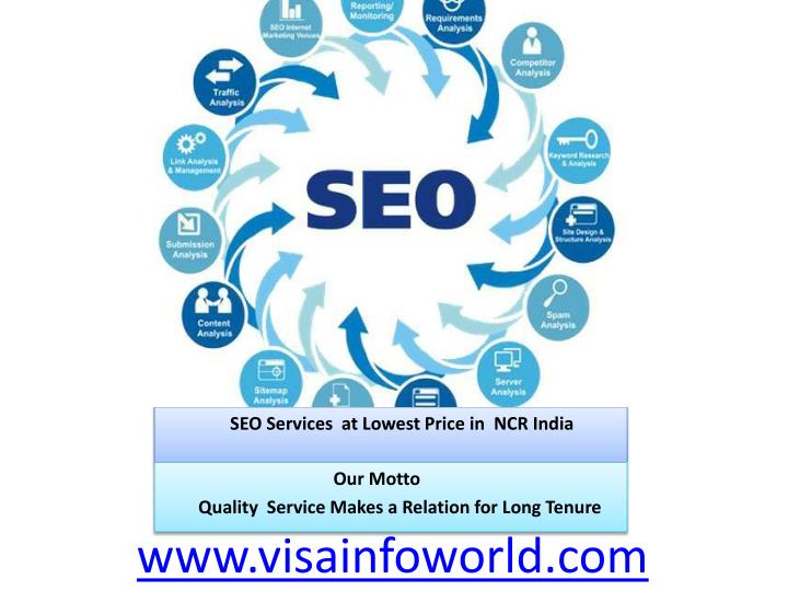 Seo services at lowest price in ncr india