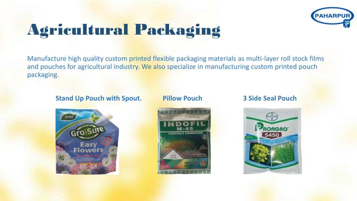 Agricultural Packaging