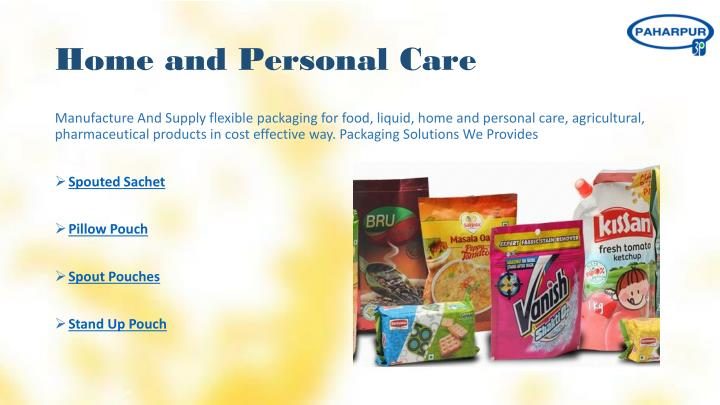 Home and Personal Care