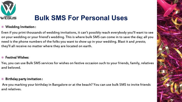 Bulk sms for personal uses1