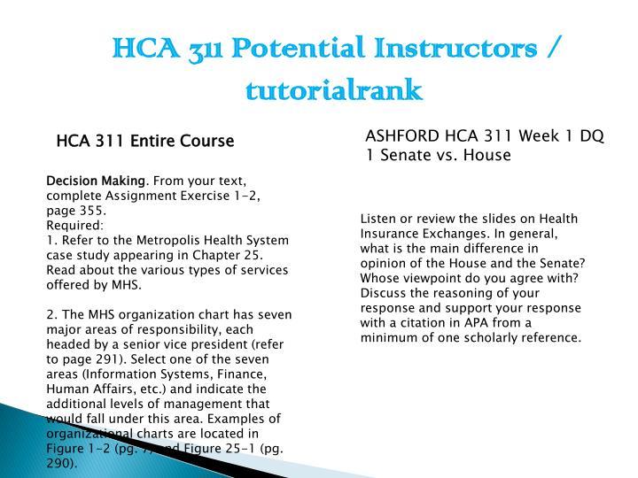 HCA 311