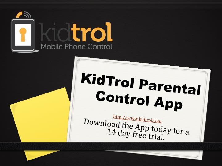 KidTrol Parental