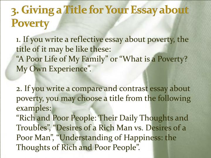 Write my poverty in america essay