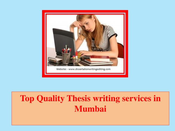 Online thesis writing tutorial