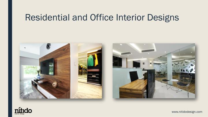 Ppt check out the talented interior decorators in mumbai for Residential interior design ideas