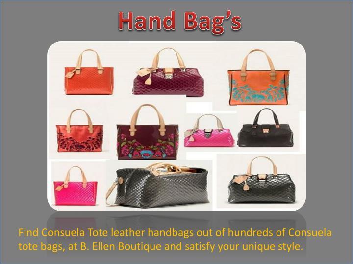Hand Bag's