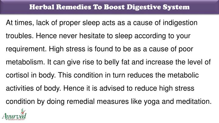 Herbal Remedies To Boost Digestive System