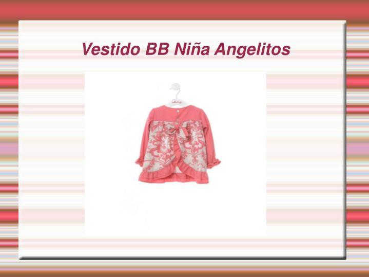 Vestido BB Niña Angelitos